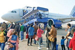 slowdown in airline business