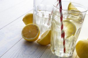 benefits of drinking lemon and water