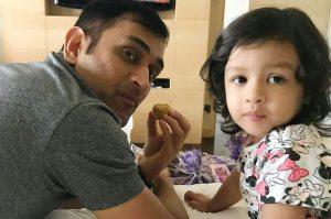 dhoni and jiva