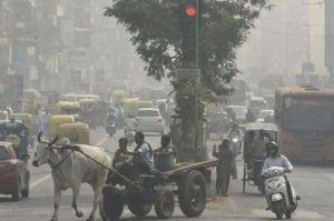 pollution attack in delhi ncr