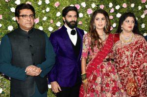 raj thakrey son marriage