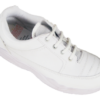Action Shoes Boy's Synthetic School Shoes Lace White