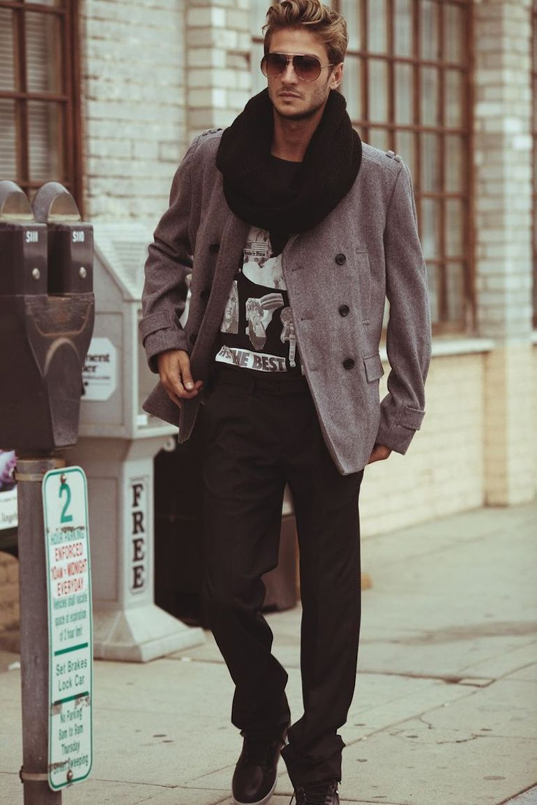 6 Dapper Ways Men Can Wear A Scarf This Winter   SeenIt