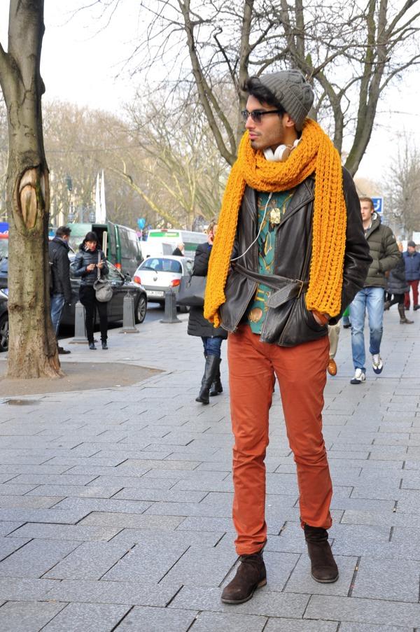 men-street-style-long-coatshort-shirt-pent-and-scarf-16