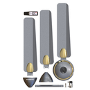 Atomberg Efficio+ 1200 Mm Bldc Motor (Sand Grey)