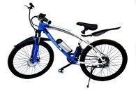 Tronz Tron Z E Bike 250 W Hub Motor, 36 V Lithium Ion Battery, 55 65km Range (White And Blue)