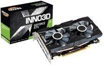 Inno3 D Geforce Gtx 1660 Ti Twin X2 6 Gb Gddr6 Gaming Graphic Card N166 T2 06 D6 1710 Va15 (Black,6gb Storage)