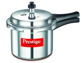 Prestige Popular Aluminium Pressure Cooker (Silver)