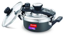 Prestige Svachh Clip On Mini Hard Anodized Pressure Cooker (Black)