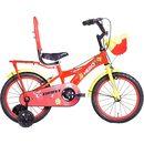 Hero Brat 16 T Single Speed Cycle (Red)