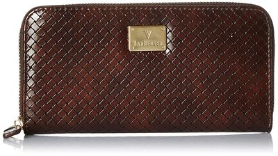 Van Heusen Women'S Wallet (Dark Brown)