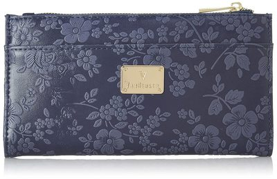 Van Heusen Autumn-Winter 19 Women'S Wallet (Blue)
