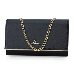 Lavie Anushka Collection Glam Women'S Clutch (Black)