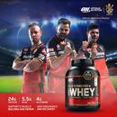 Optimum Nutrition (On) Gold Standard 100% Whey Protein Powder - 2.27 Kg/5 Lbs (Delicious Strawberry), Primary Source Isolate