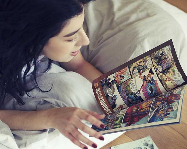 Comics illustrations
