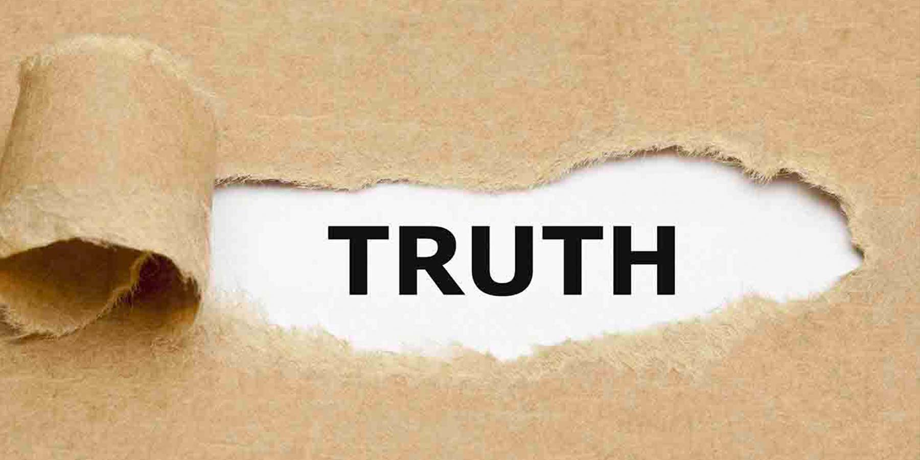 confront with ultimate truth