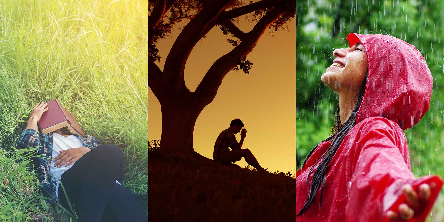 Get rid of stress with spirituality