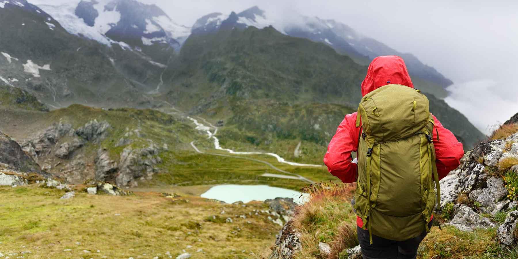 Trekking uphill struggle