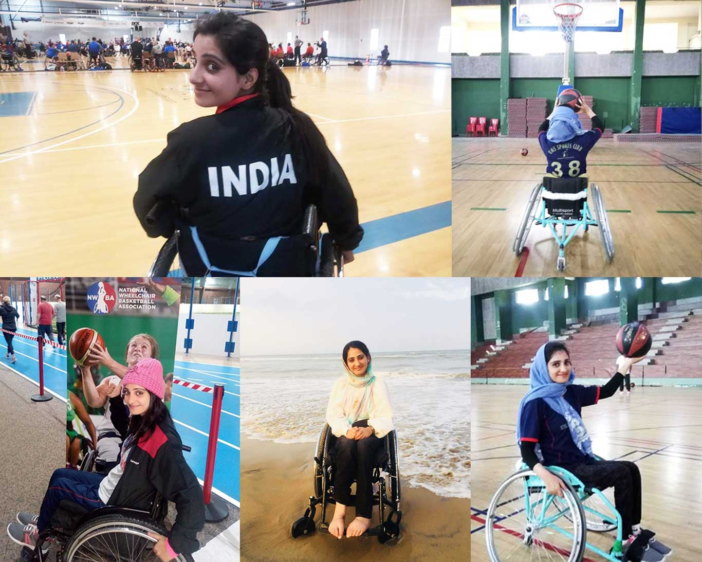 From wheelchair to basketball: Meet Inshah Bashir who carved her own destiny