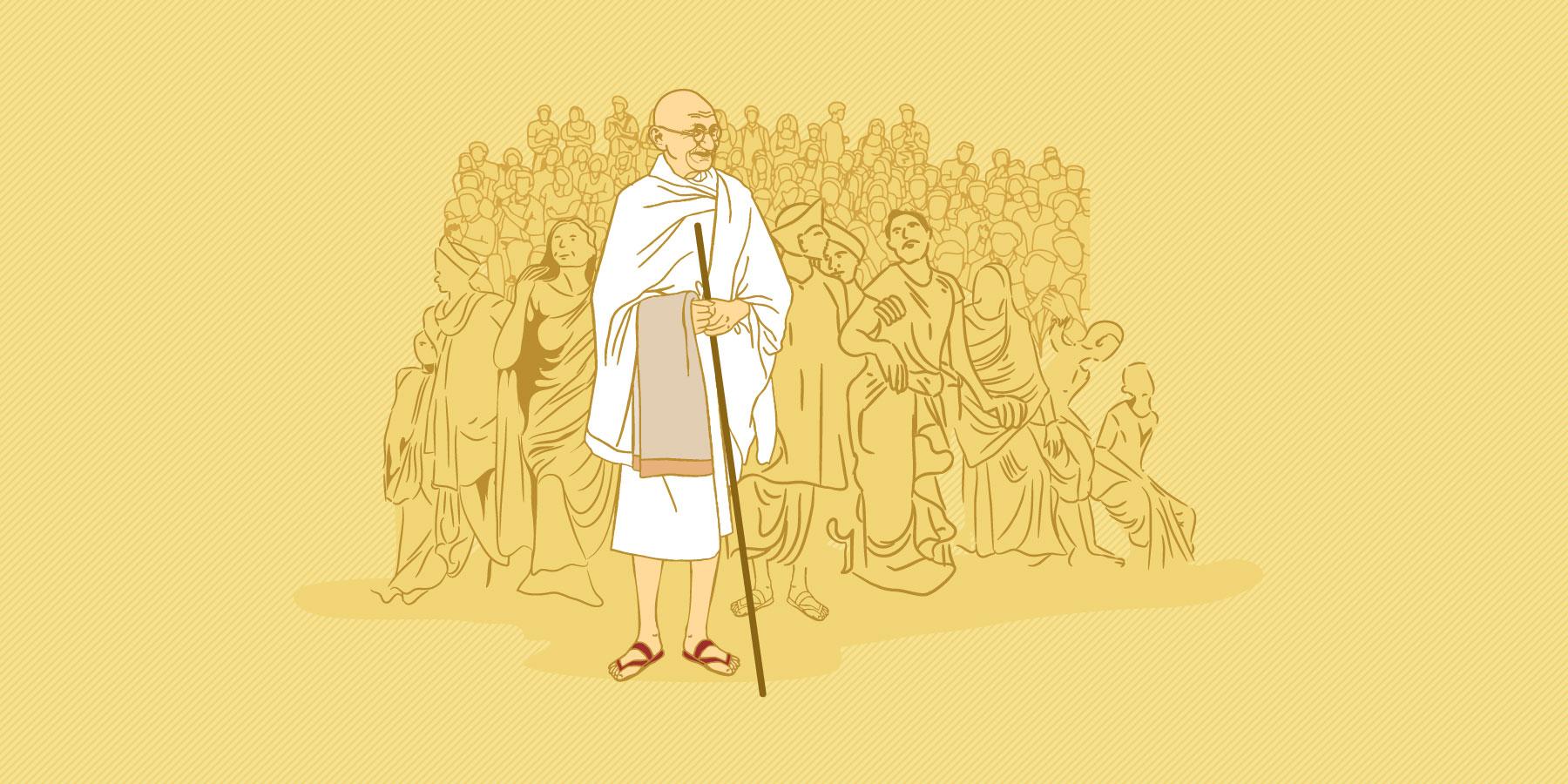 The fragrance of Gandhi's life