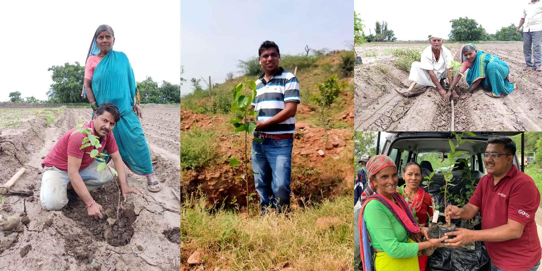 apurva bhandari Sankalptaru - tree plantation mission