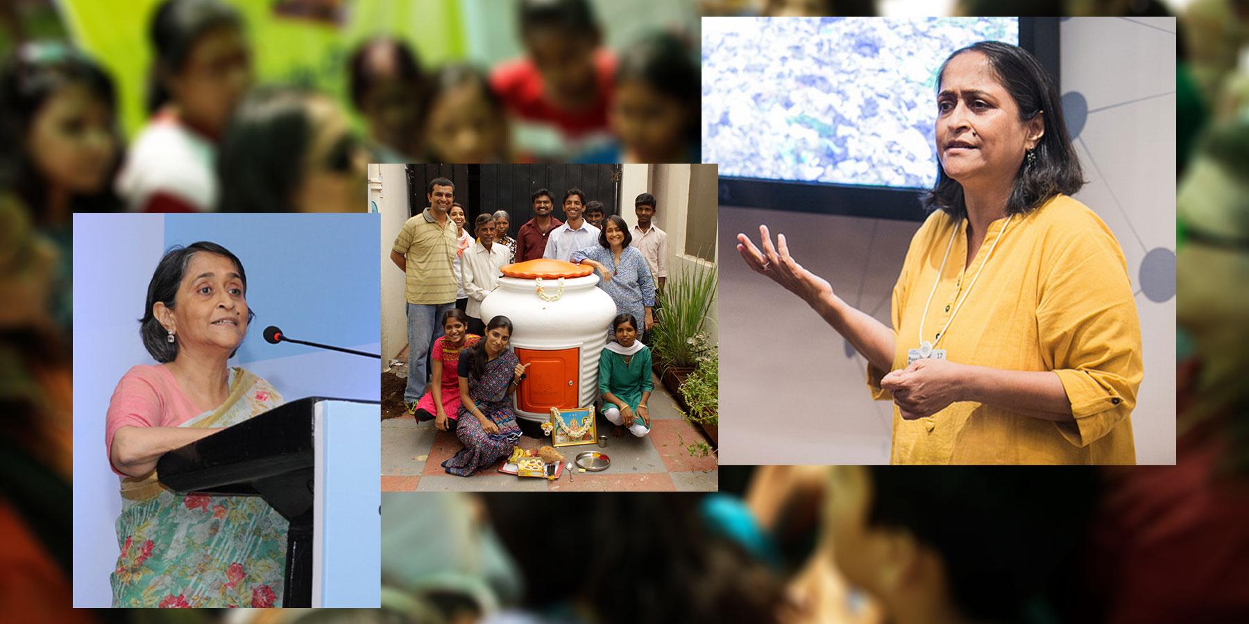 Poonam Kasturi - daily dump waste management initiative