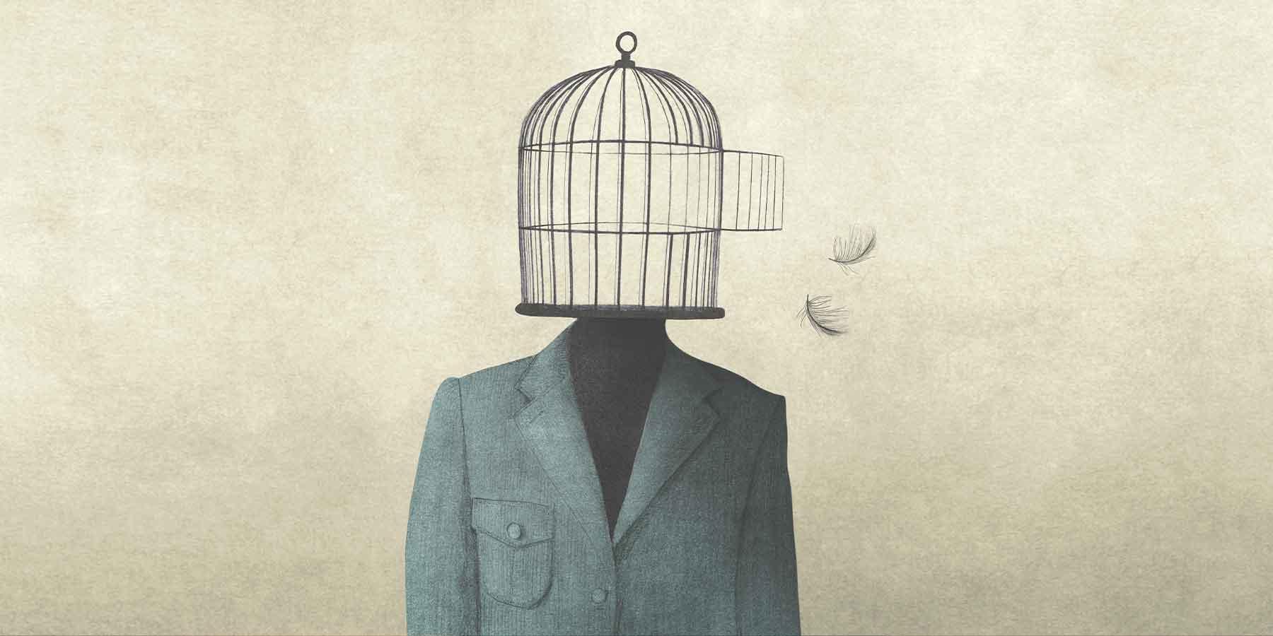 Prisoners are we - by Dada JP Vaswani