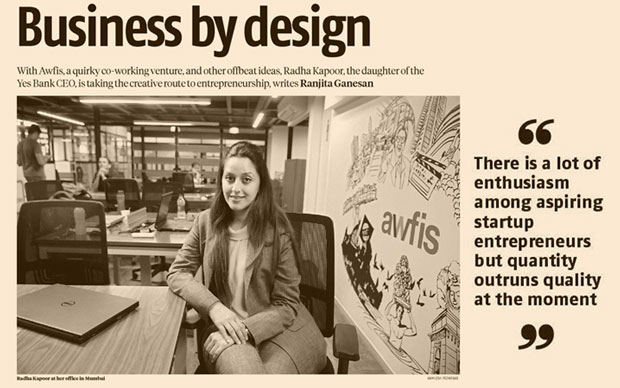 Radha Kapoor is taking the creative route to business