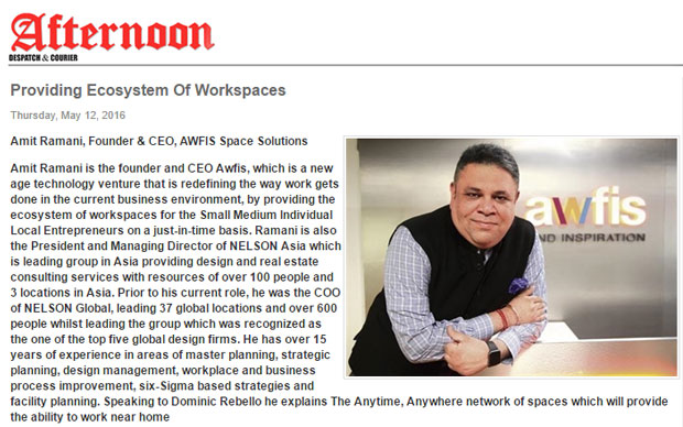 Providing Ecosystem Of Workspaces