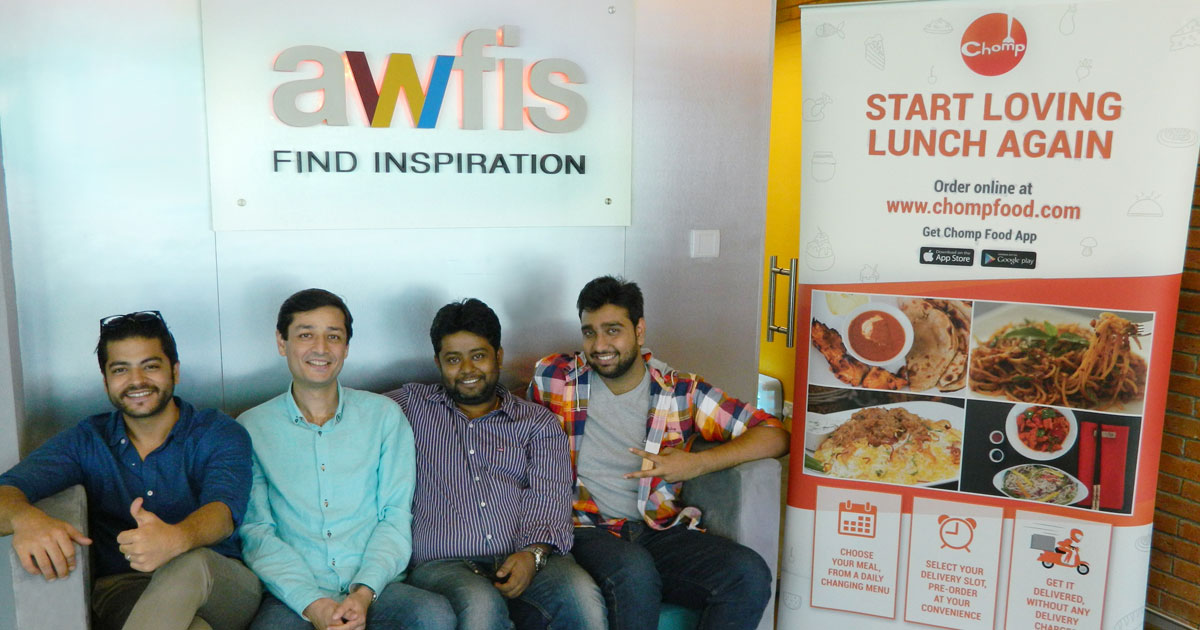 #inspiringstories@Awfis: The quest for wholesome food germinated into a business idea – Chomp Food