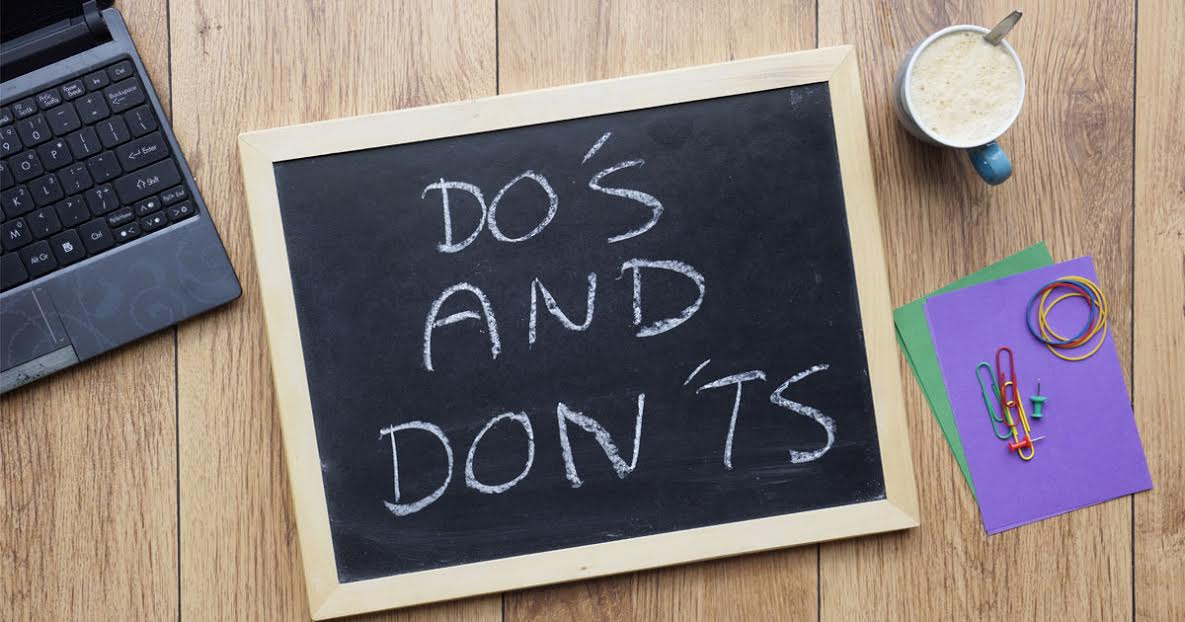 Do's and Don'ts of a Successful Business
