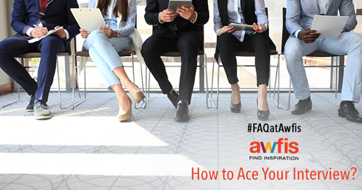 #FAQatAwfis: How to ace your job interview ?