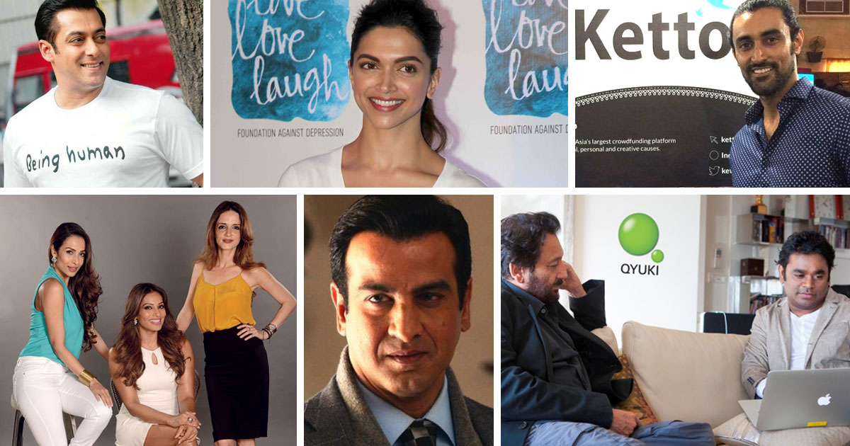 Bollywood Celebrities Who Sought Entrepreneurship