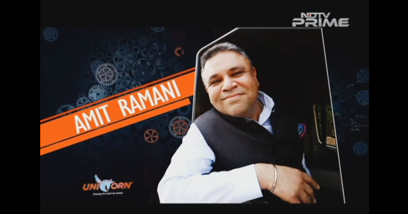 Amit Ramani (Founder & CEO- Awfis Space Solutions Pvt Ltd) on NDTV Unicorn