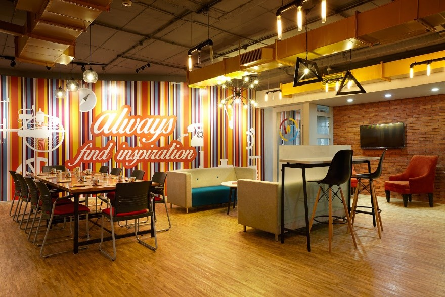 Co-working spaces are becoming a new asset class in commercial realty