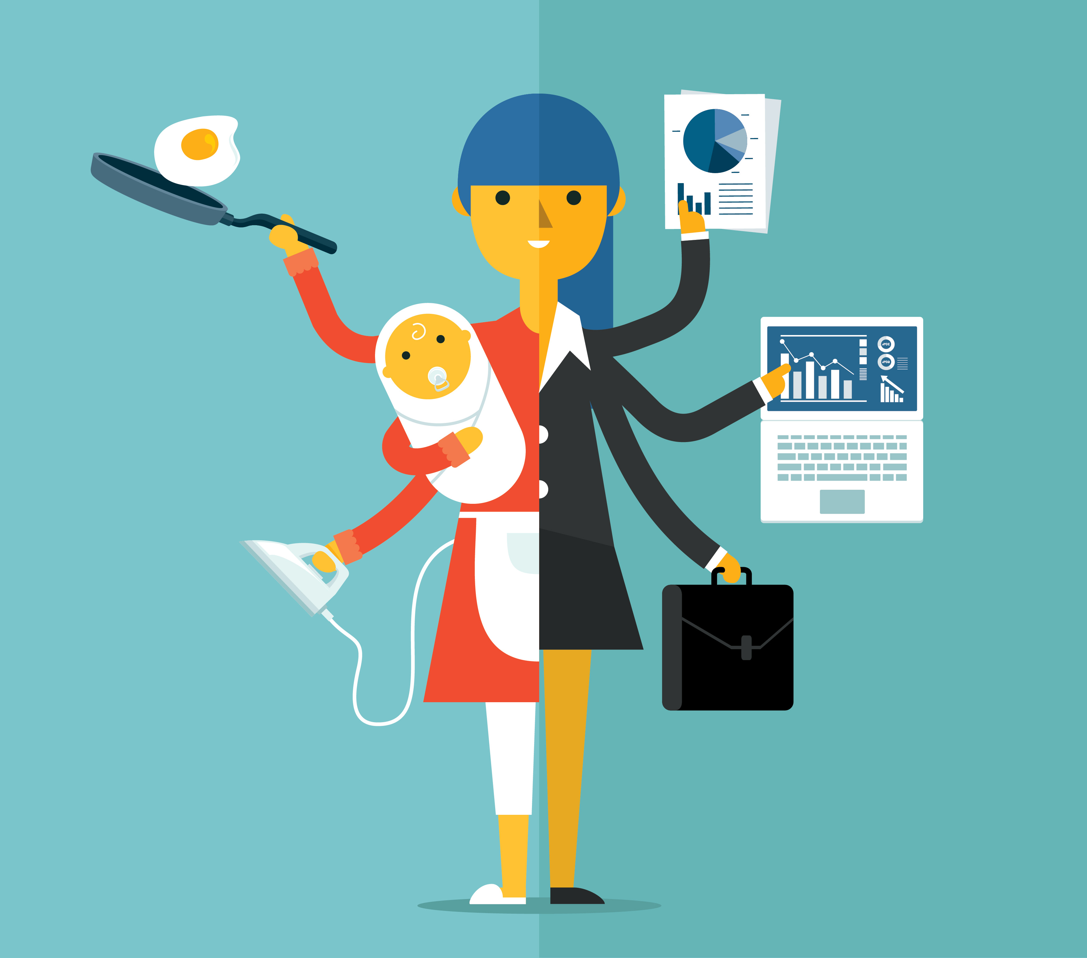 5 ways for mom-preneurs to strike the perfect balance in life
