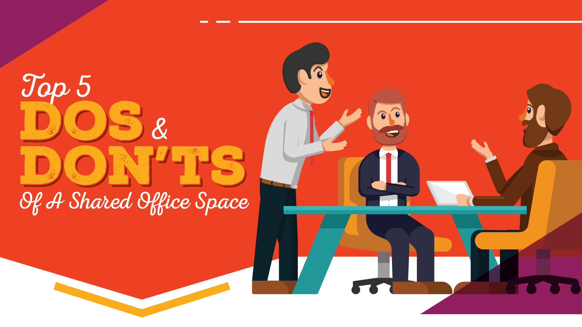 Do's and Don'ts of Shared Office Space