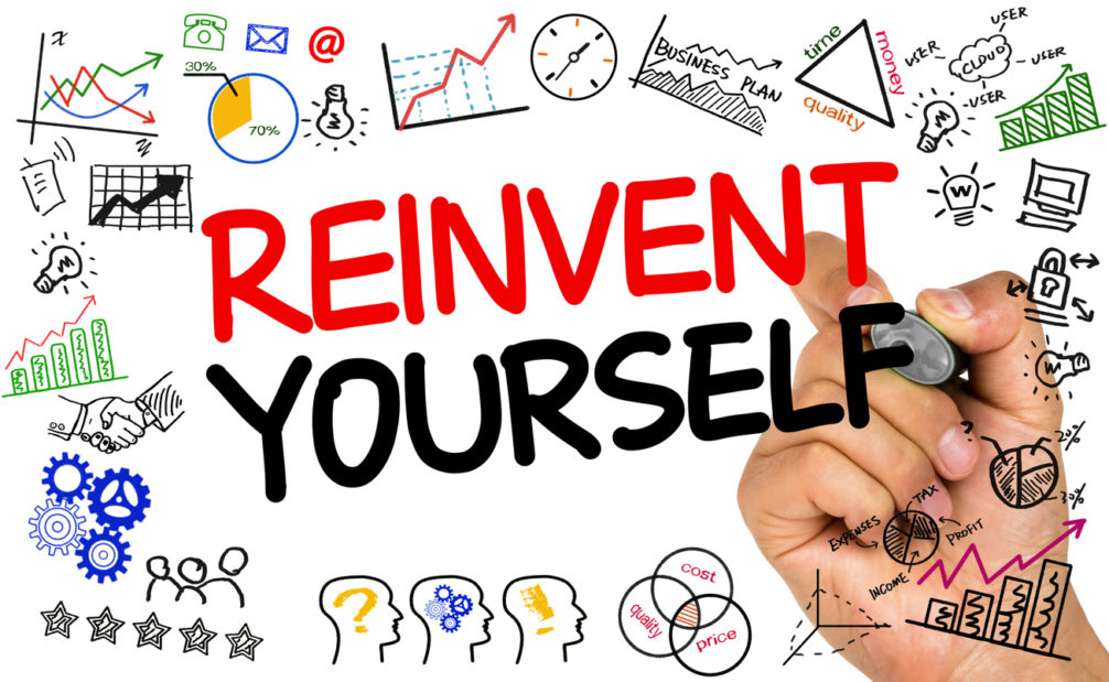 October – The Self-Improvement Month. Reinvent Yourself.