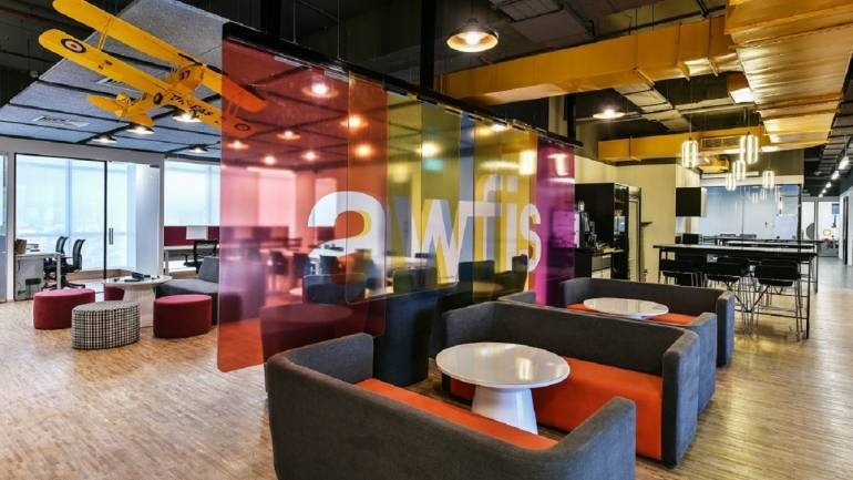 Coworking Lounge at Awfis