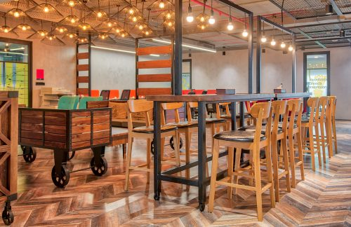 Co-working spaces enter events business