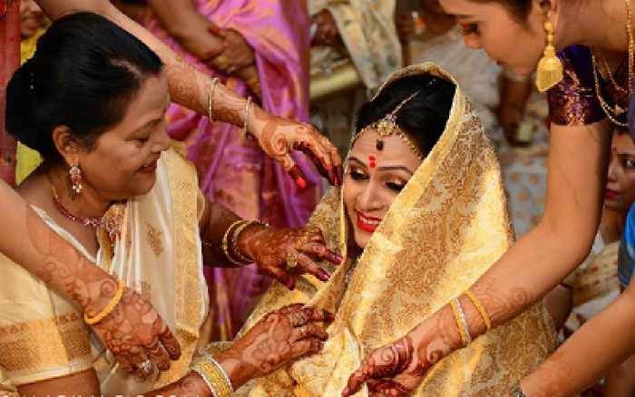 pre-wedding tradition of Assamese