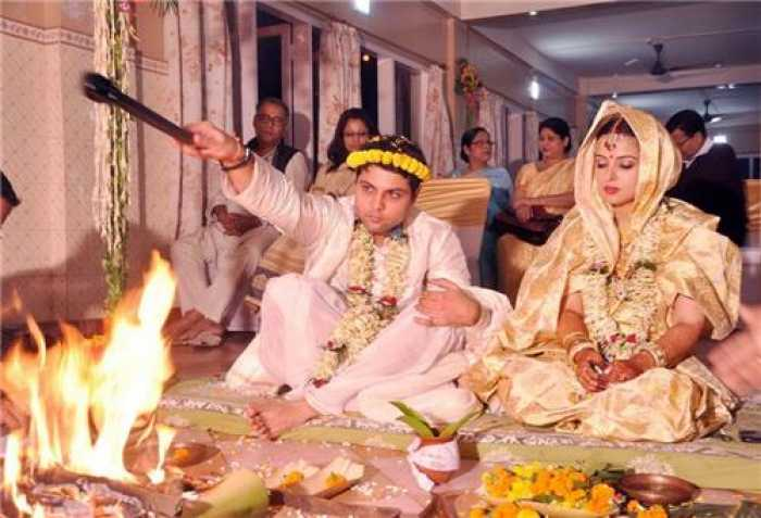 Assamese wedding day rituals