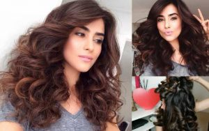 How to get bouncy hair overnight
