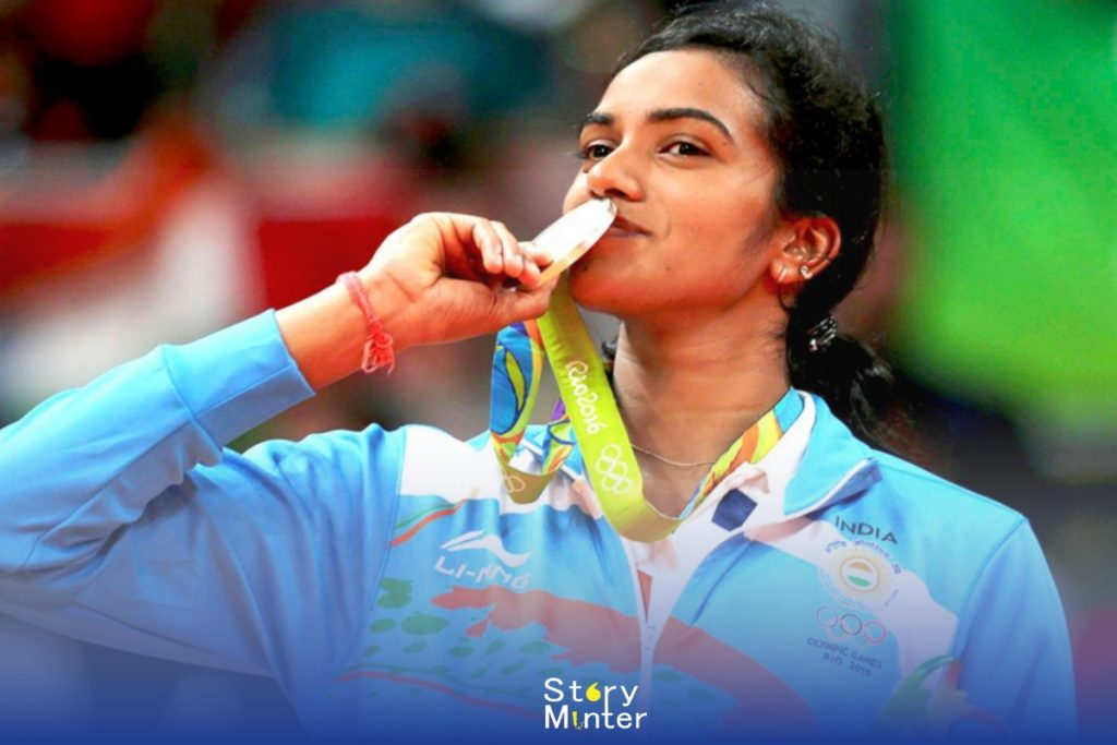 "Indian Sportswomen ""PV Sindhu"""