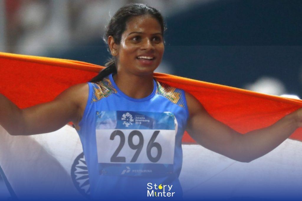 "Indian Sportswomen ""Dutee Chand"""