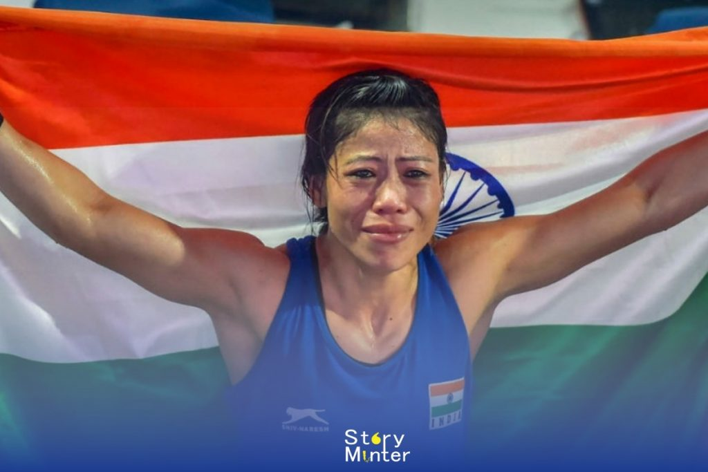 "Indian Sportswomen ""Mary Kom"""