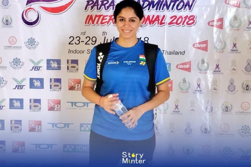 "Indian Sportswomen ""Manasi Joshi"""