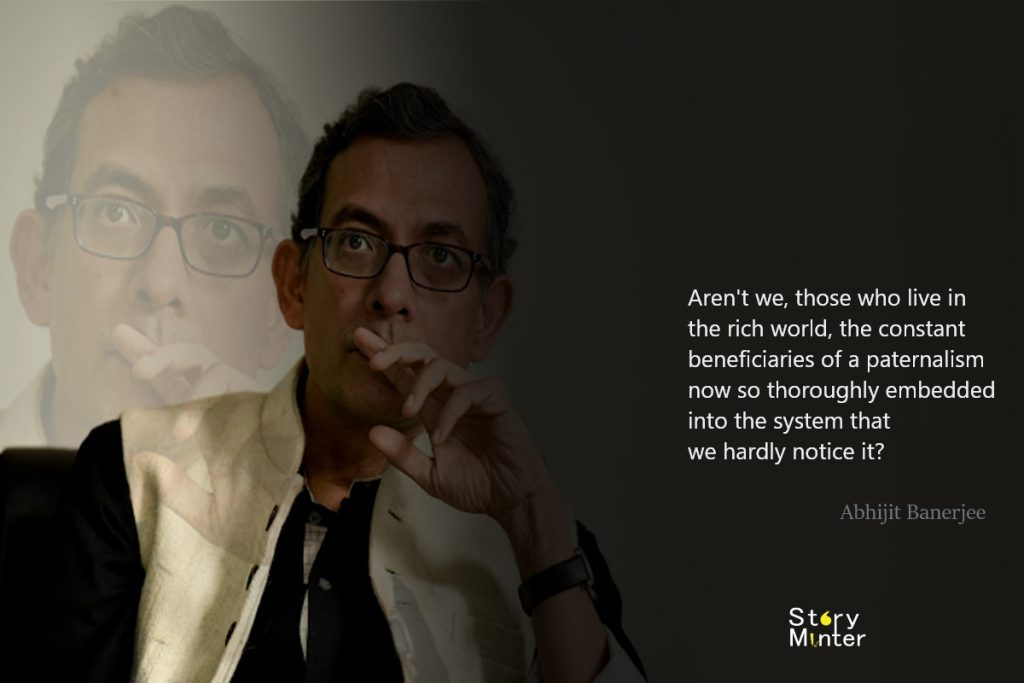 Abhijit Banerjee Powerful Perception