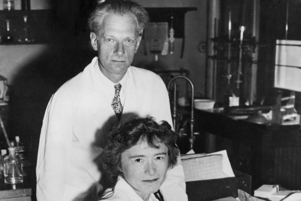 Gerty Theresa Cori and Carl Ferdinand Cori