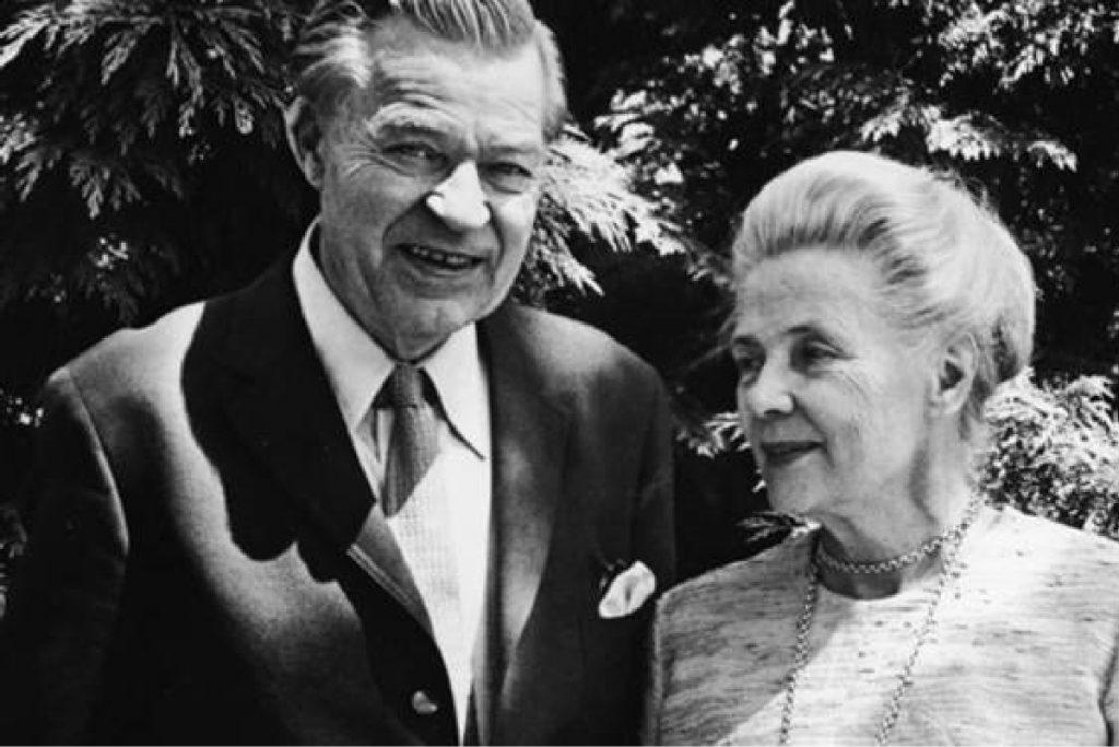 Gunnar Myrdal and Alva Myrdal